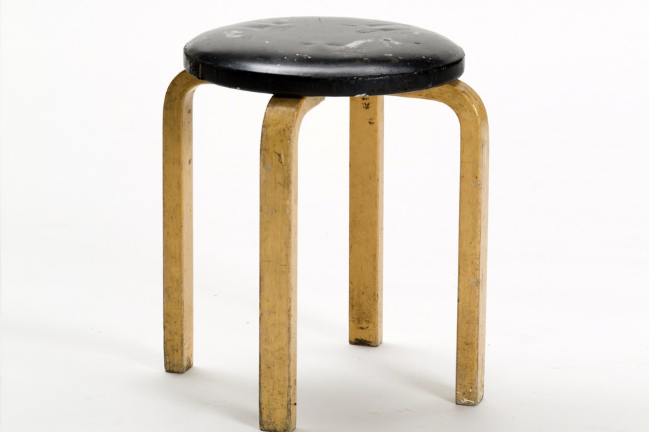 Stool E60 upholstered