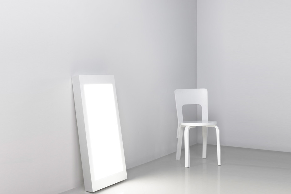 Wall and Floor Lamp White 2