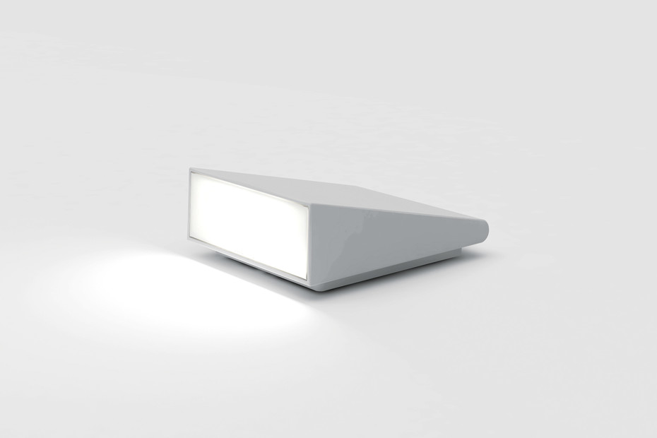 Cuneo floor and wall lamp