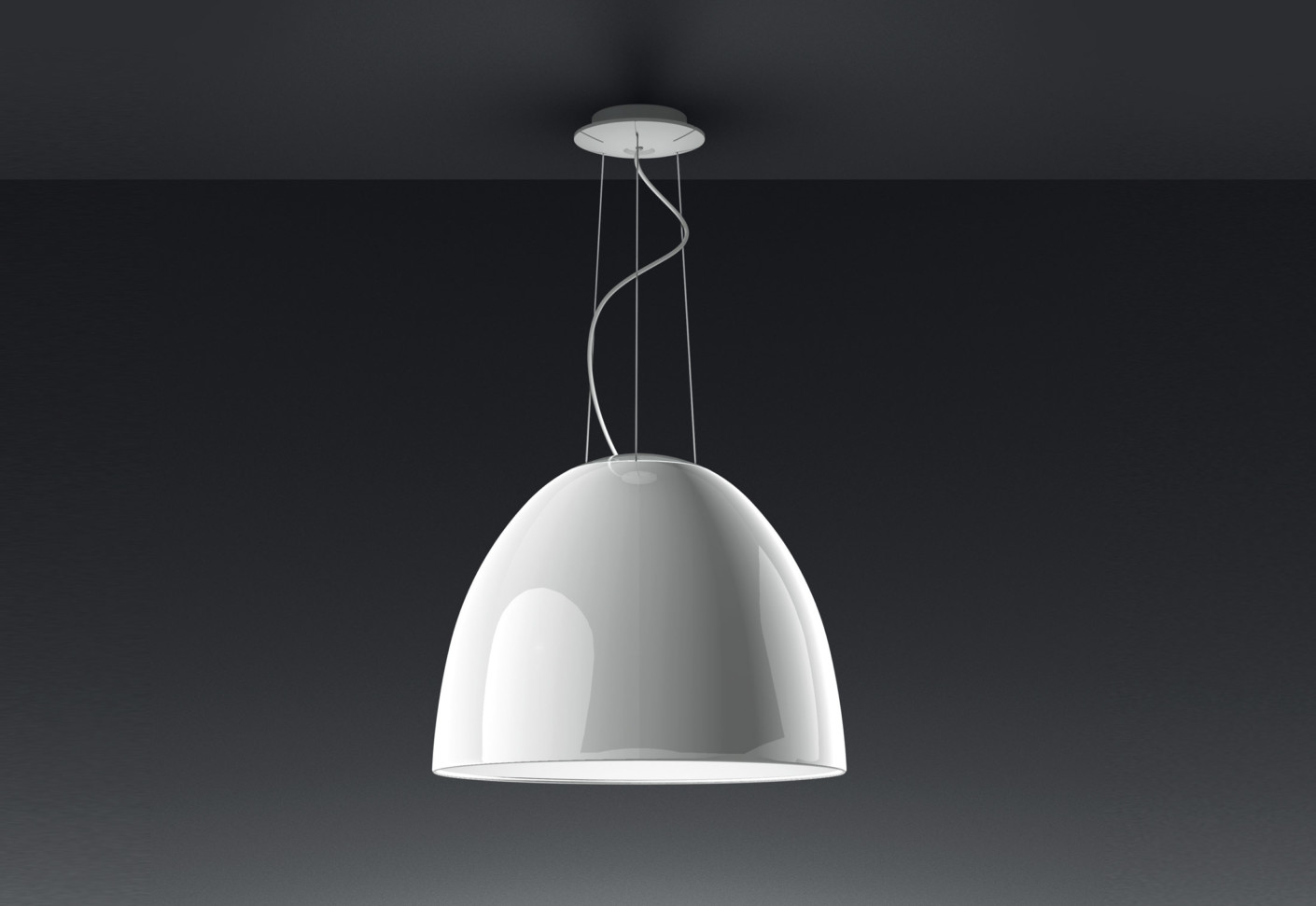 Nur gloss sospensione by artemide stylepark for Artemide luci