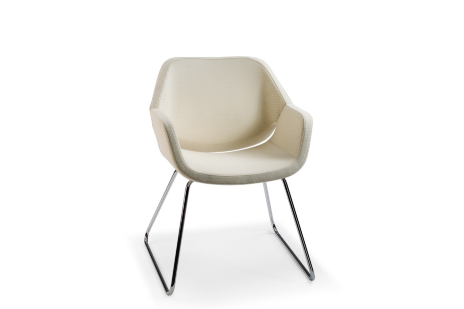Gap cantilever chair
