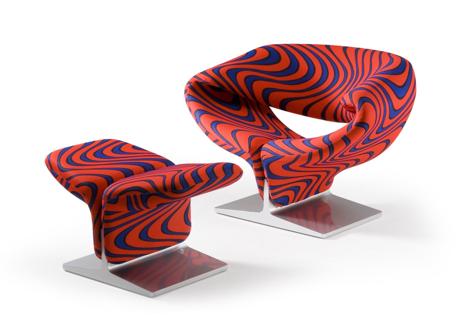 Ribbon footstool