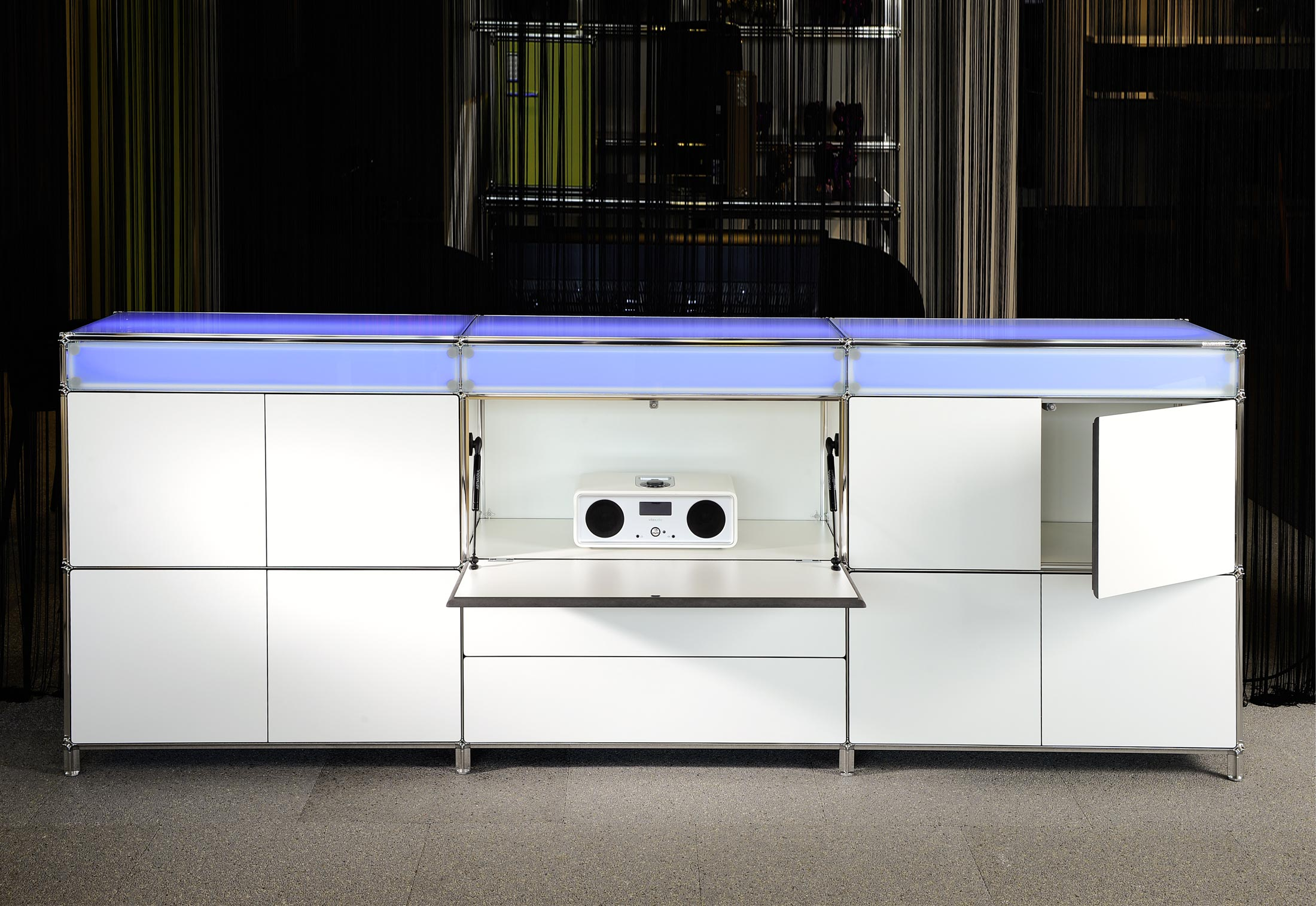 Designer bett led  LED - Sideboard von Artmodul | STYLEPARK