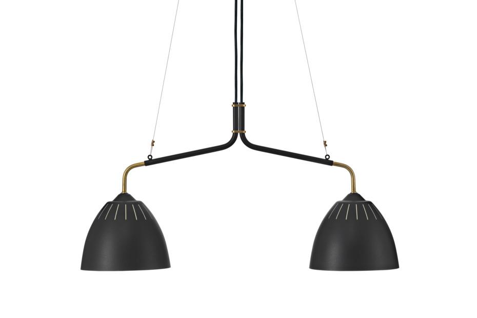 Lean pendant lamp