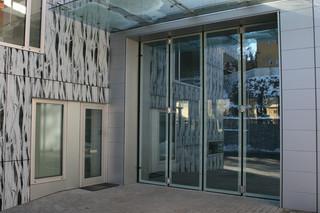 Falttür, Glaszentrum Seyr, Bruneck  von  Auroport