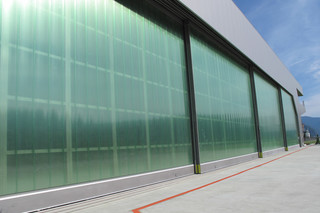 Sliding Gate, Airplana Hangar, Bolzano  by  Auroport