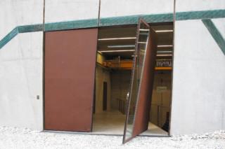 Special Door, Power Station, Winnbach  by  Auroport