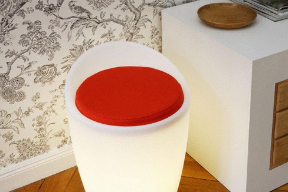 Otto Lighted Stool