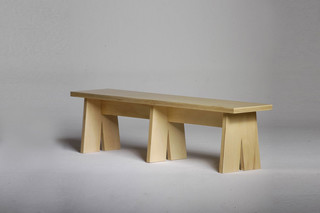 Walking Man Bench  by  Autoban
