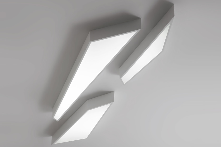 Shatter Light ceiling/wall