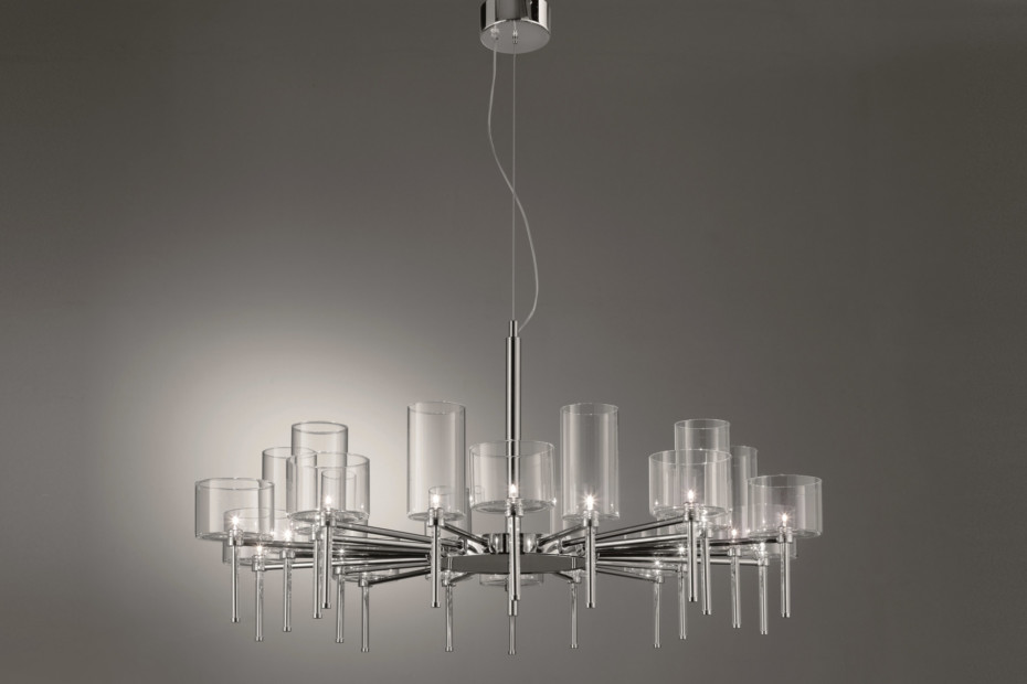 Spillray chandelier