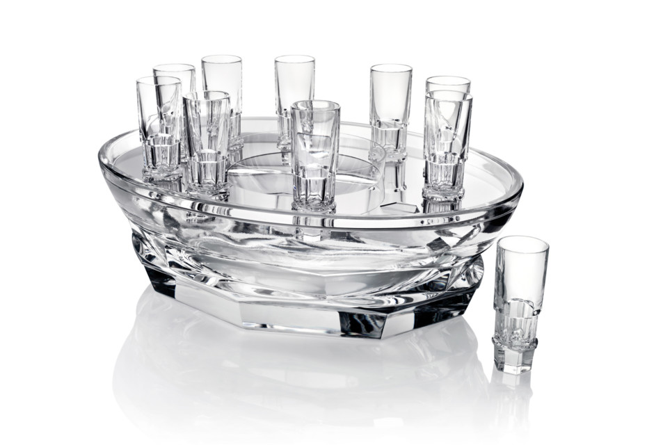 Abysse caviar set with glasses