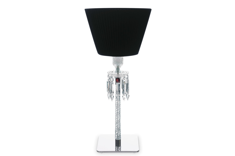 Torch table lamp, black