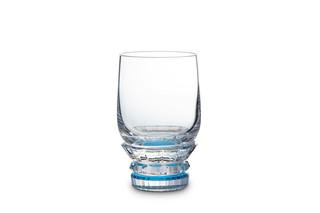 Variations verre eau bleu  by  Baccarat