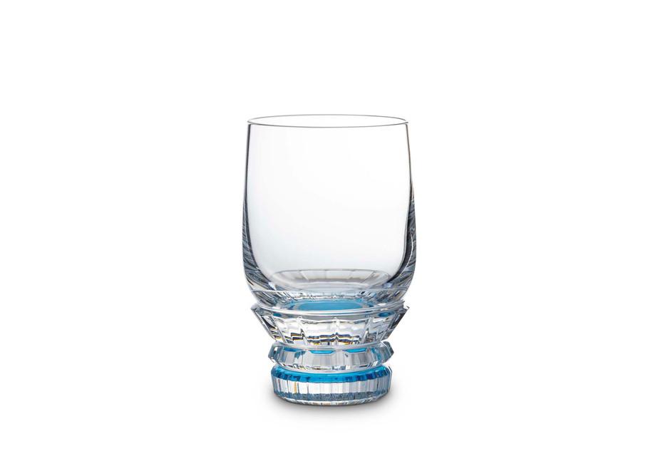 Variations verre eau bleu