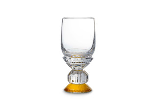 Variations verre vin blanc jaune  by  Baccarat