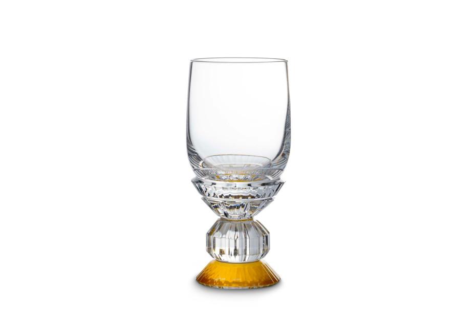 Variations verre vin blanc jaune