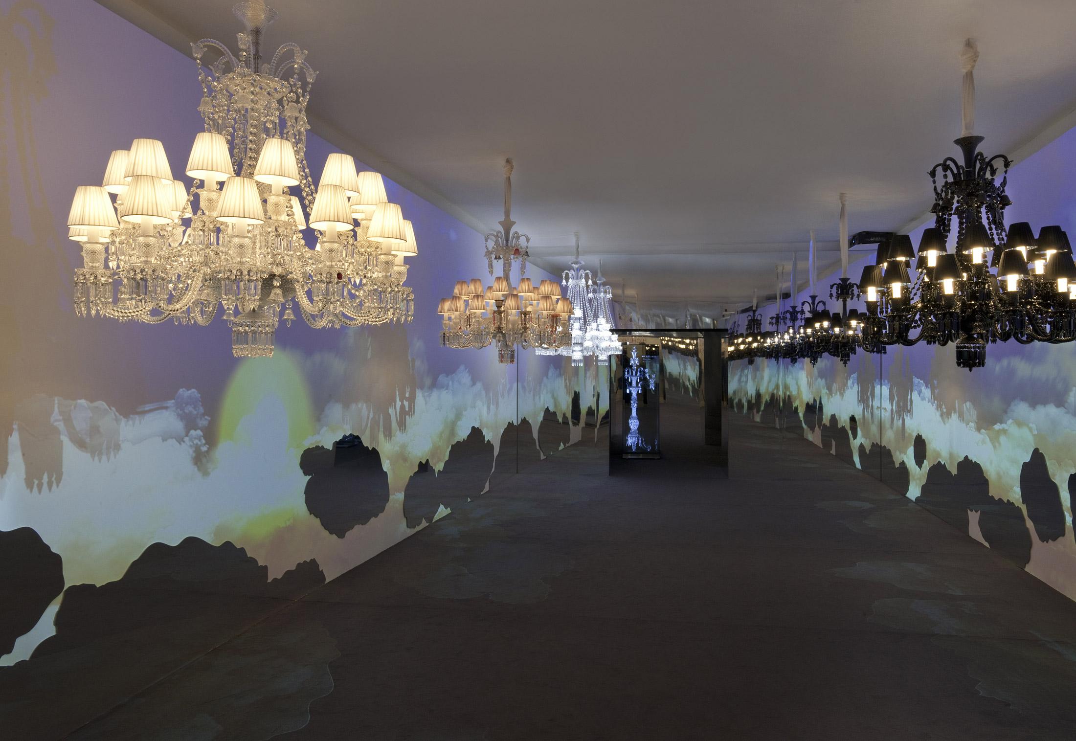 Zenith midnight chandelier by baccarat stylepark zenith midnight chandelier arubaitofo Gallery