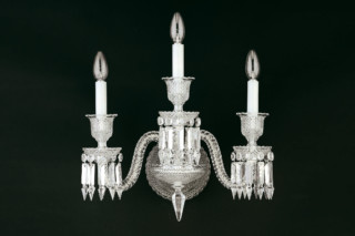 Zenith wall lamp 3L  by  Baccarat