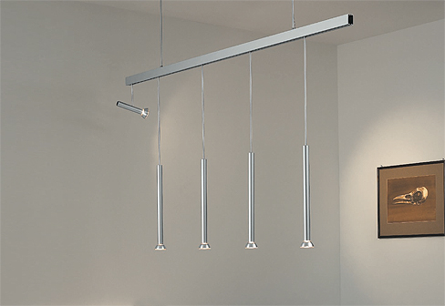 Pendolino Suspended Lighting System By Baltensweiler