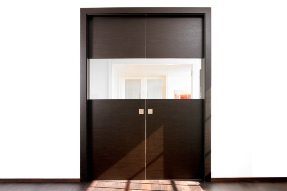 Double sliding door alpi wenge by bartels stylepark for Sliding door manufacturers