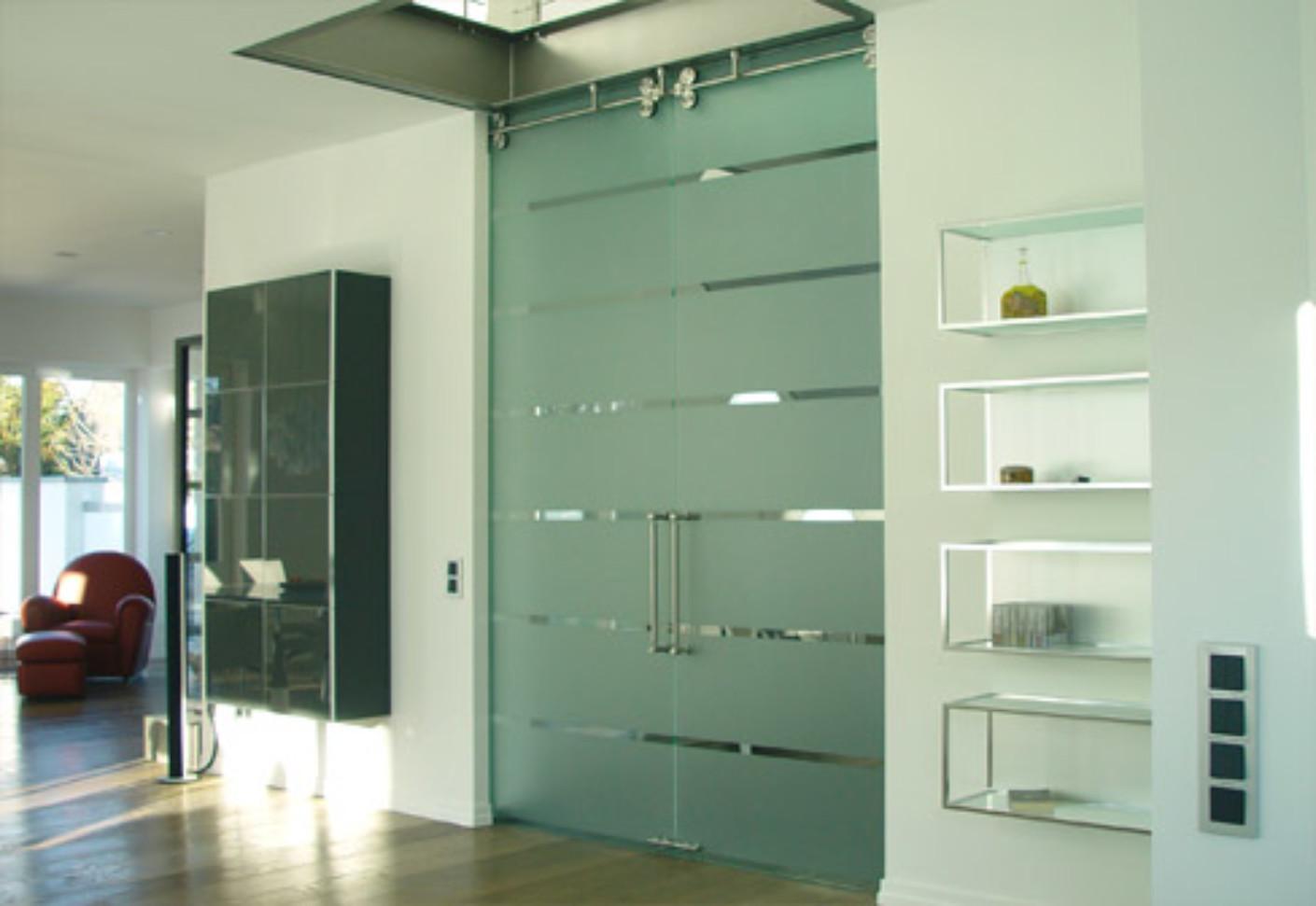Double Sliding Glass Door By Bartels Stylepark