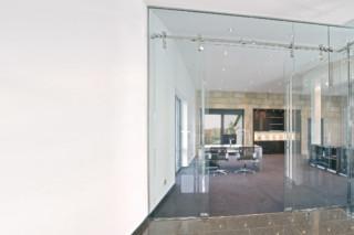 Glastür mit MWE Beschlag Akzent  von  Bartels