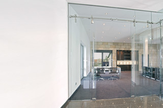 Glass door with MWE system Akzent  by  Bartels
