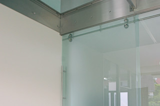 Room high sliding door with MWE system Twin  by  Bartels