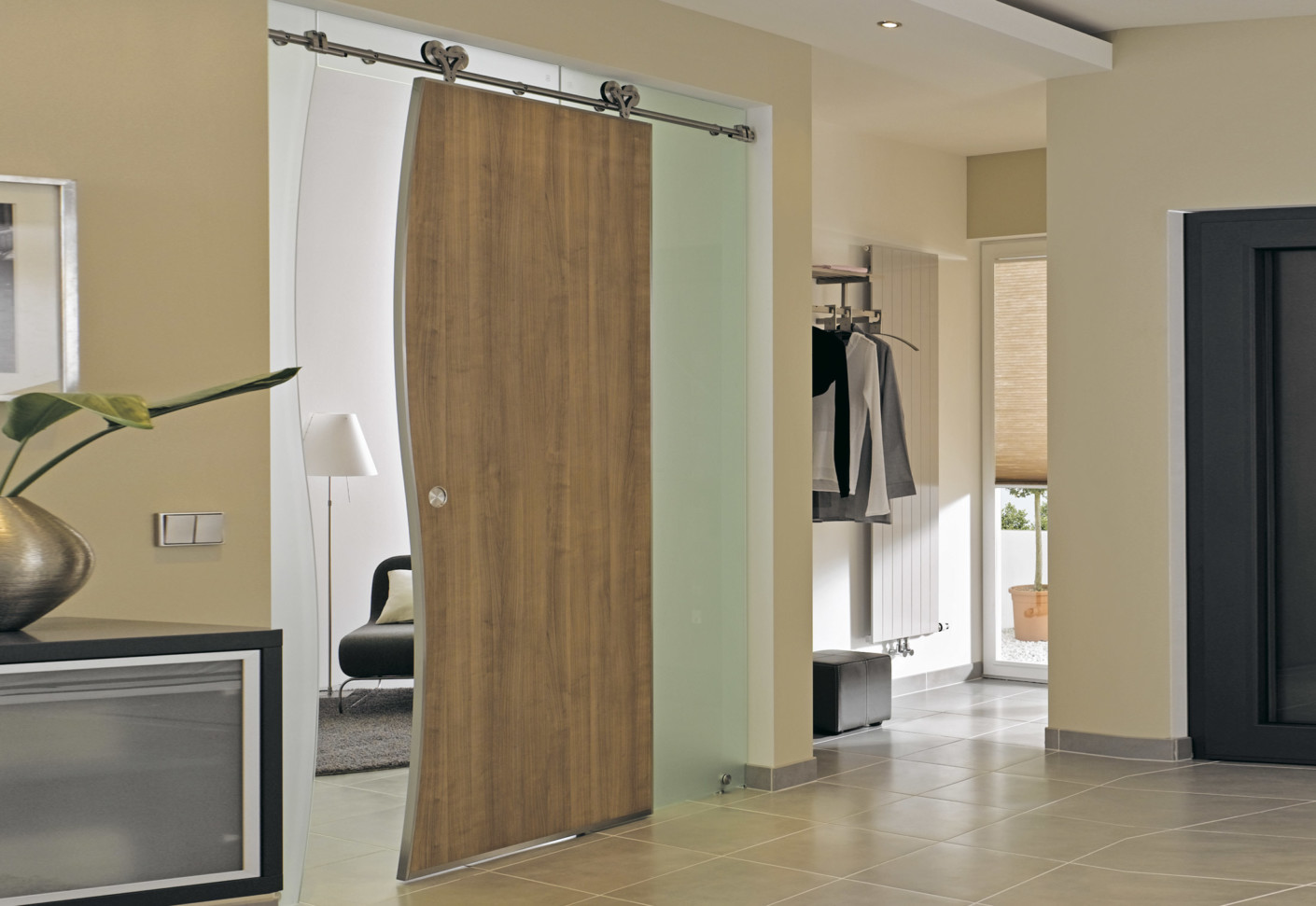 Sliding Door With Mwe Stystem Duplex S By Bartels Stylepark