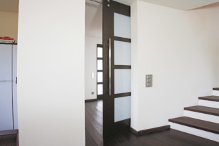 Sliding door with MWE system Twin  by  Bartels