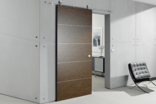 Wooden door with MWE system Supra  by  Bartels
