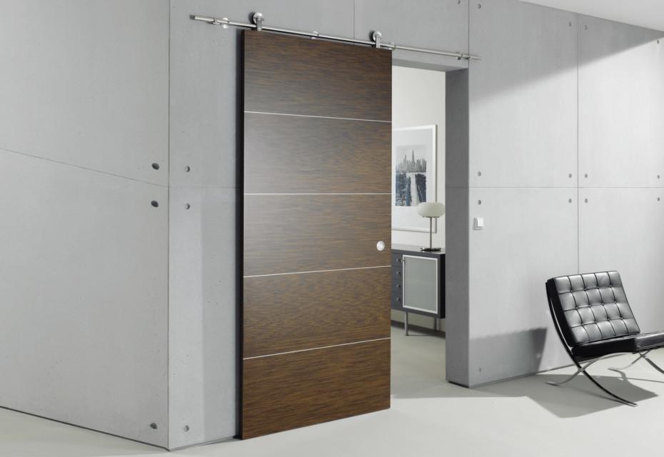Wooden door with MWE system Supra
