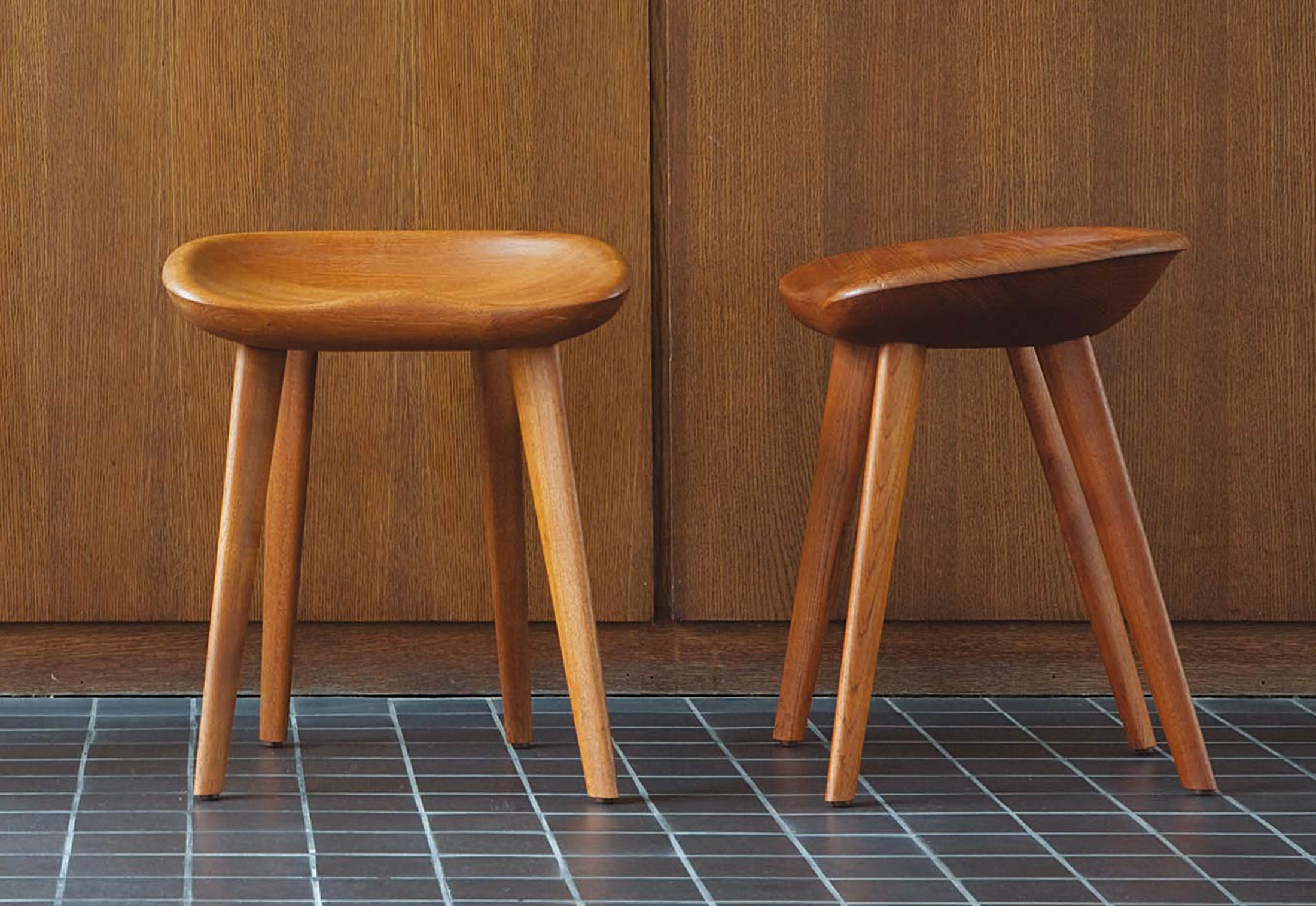 Cb 21 Tractor Counter Stool Low By Bassamfellows Stylepark
