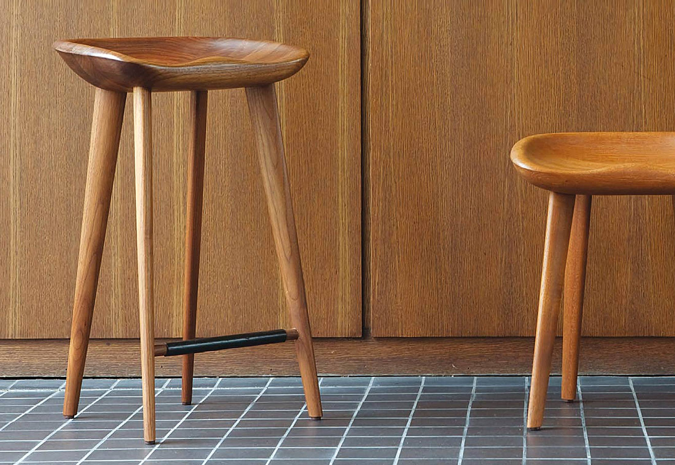 Cb 22 Tractor Counter Stool High By Bassamfellows Stylepark