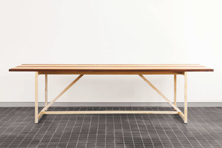 CB-341 Stripe 8 Dining Table  by  BassamFellows