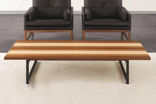 CB-343 Stripe Coffee Table  by  BassamFellows