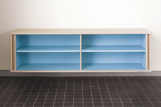 CB-383 Tambour Wall Hung Credenza  by  BassamFellows
