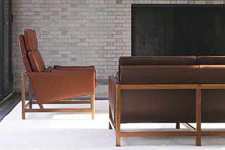 CB-510 High Back Lounge Chair  by  BassamFellows