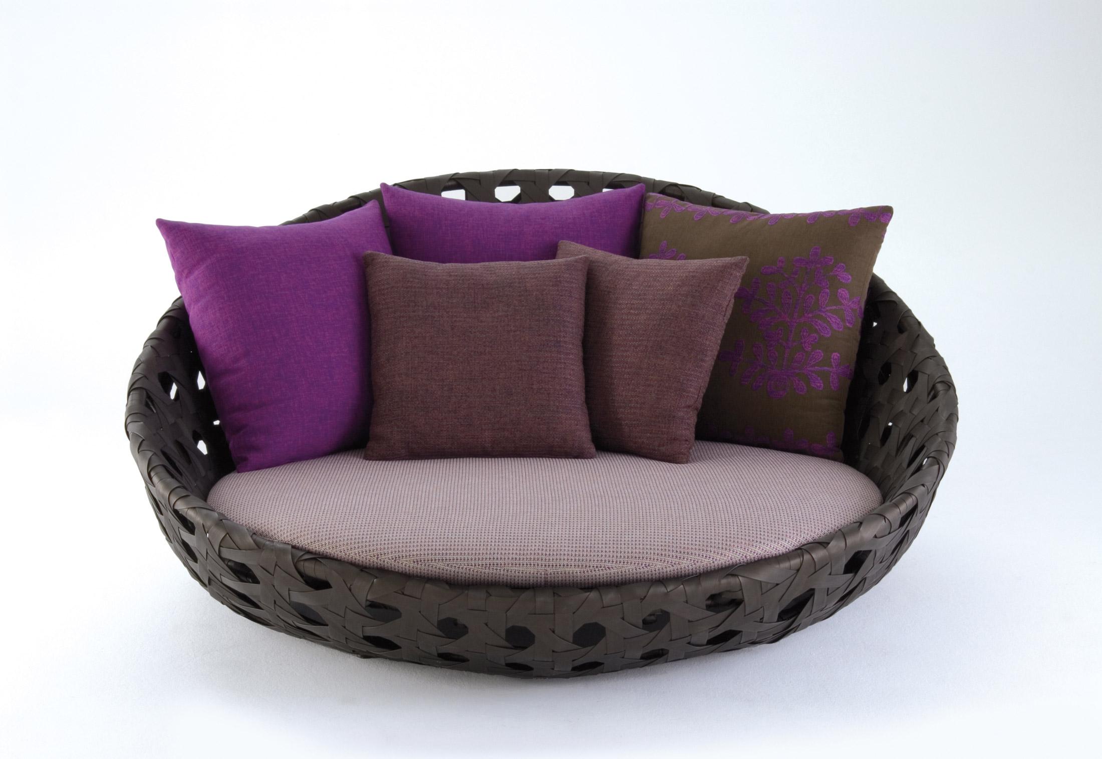 ... CANASTA U002713 Circular Armchair ...