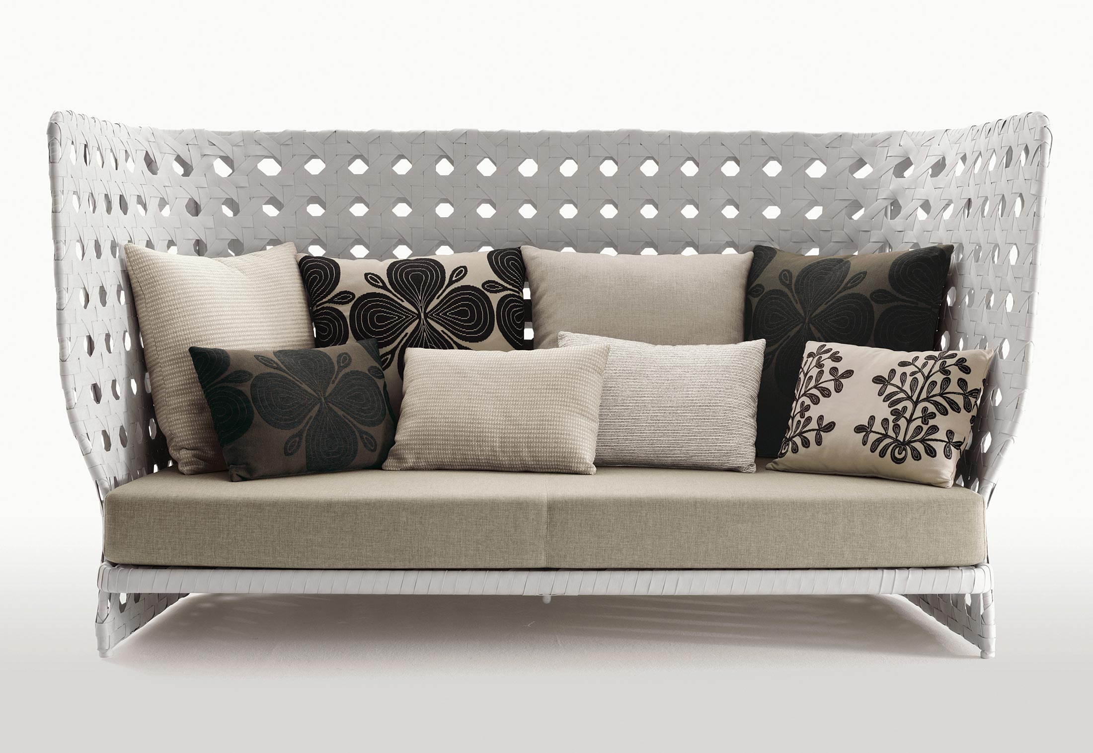 Canasta sofa highback by b b italia stylepark for B b couch
