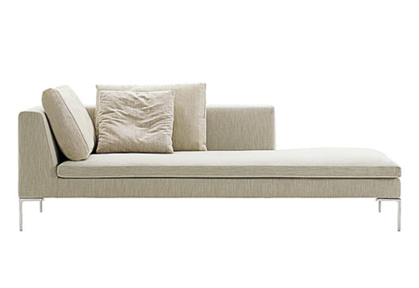 Charles chaise longue by b b italia stylepark for Chaise longue chilienne