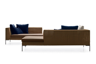 CHARLES OUTDOOR Chaise Longue  by  B&B Italia