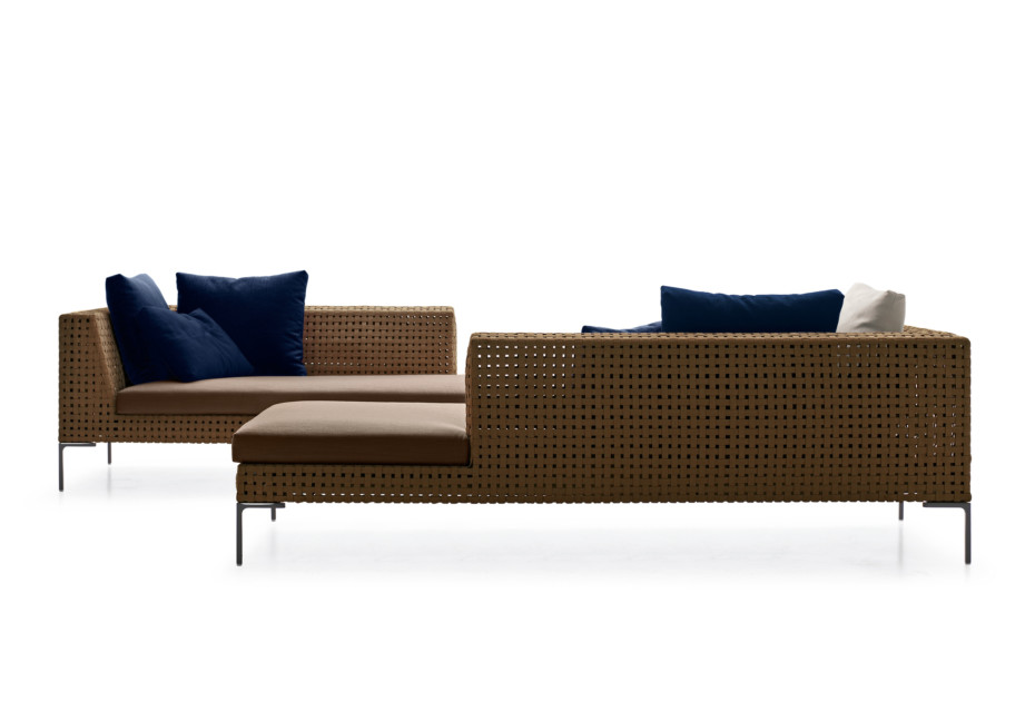 CHARLES OUTDOOR Chaiselongue
