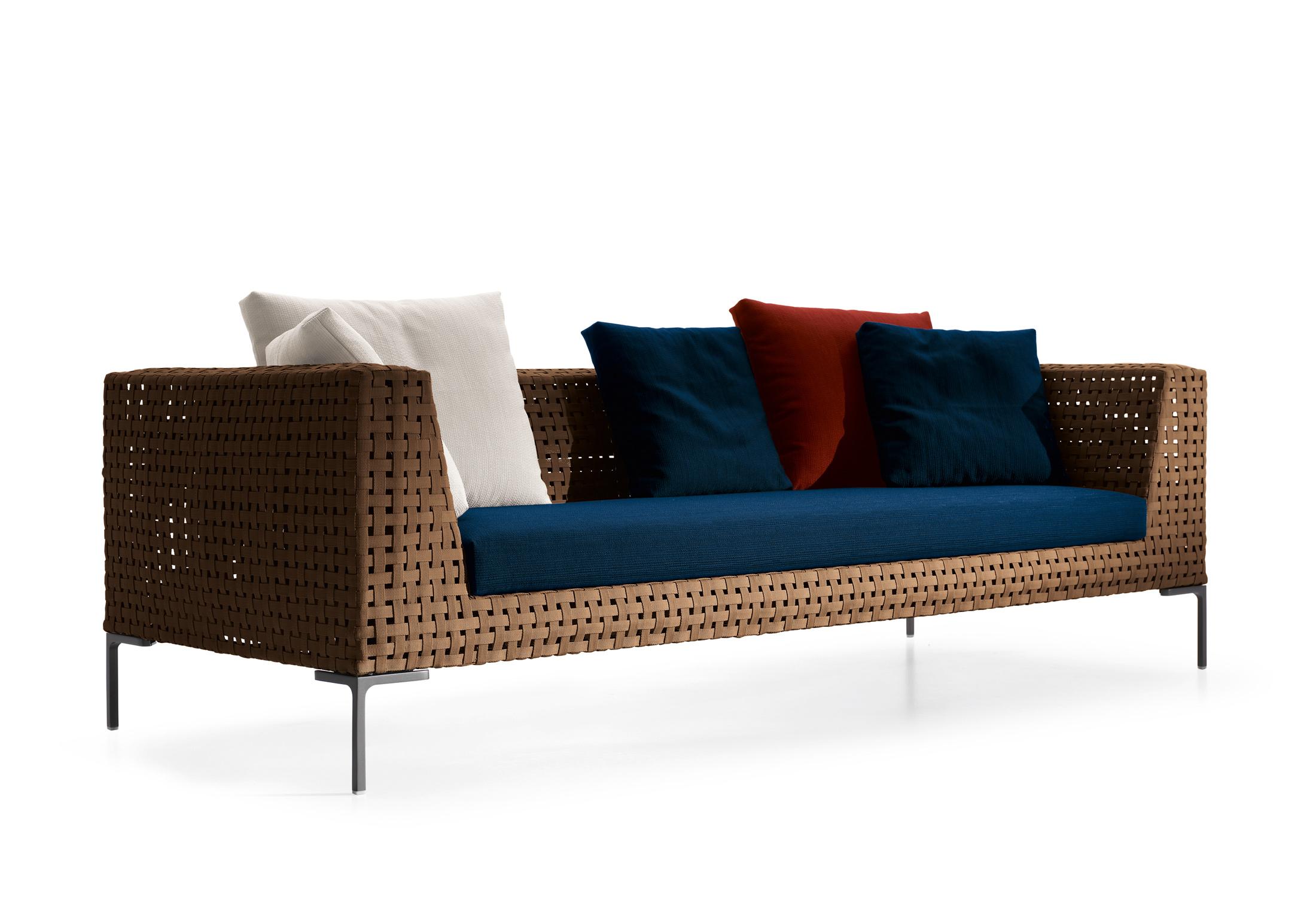 charles outdoor sofa by b b italia stylepark. Black Bedroom Furniture Sets. Home Design Ideas