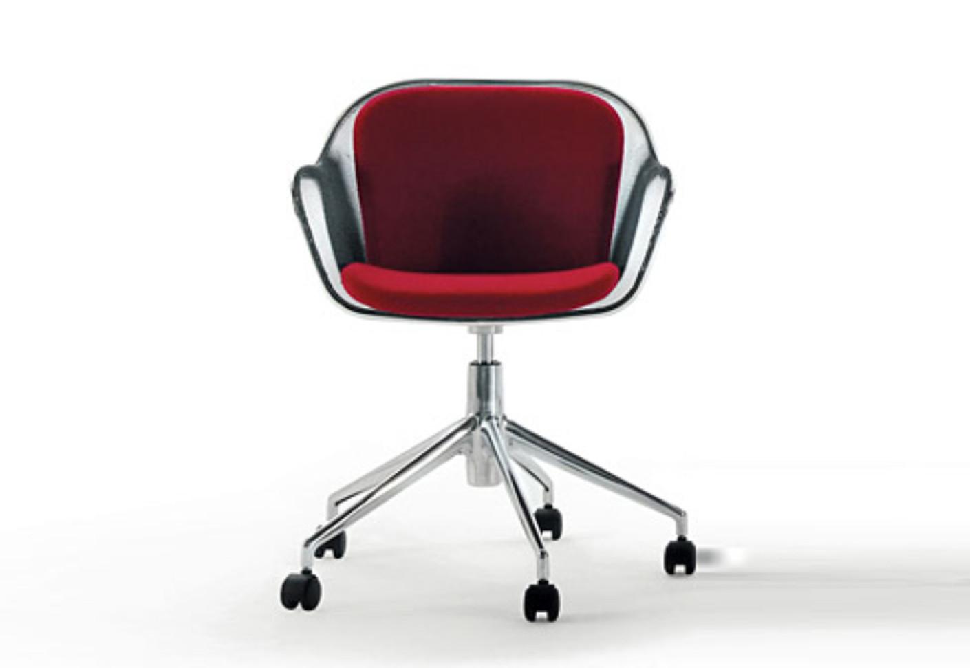 Iuta armchair with castors by b b italia stylepark for B b italia logo