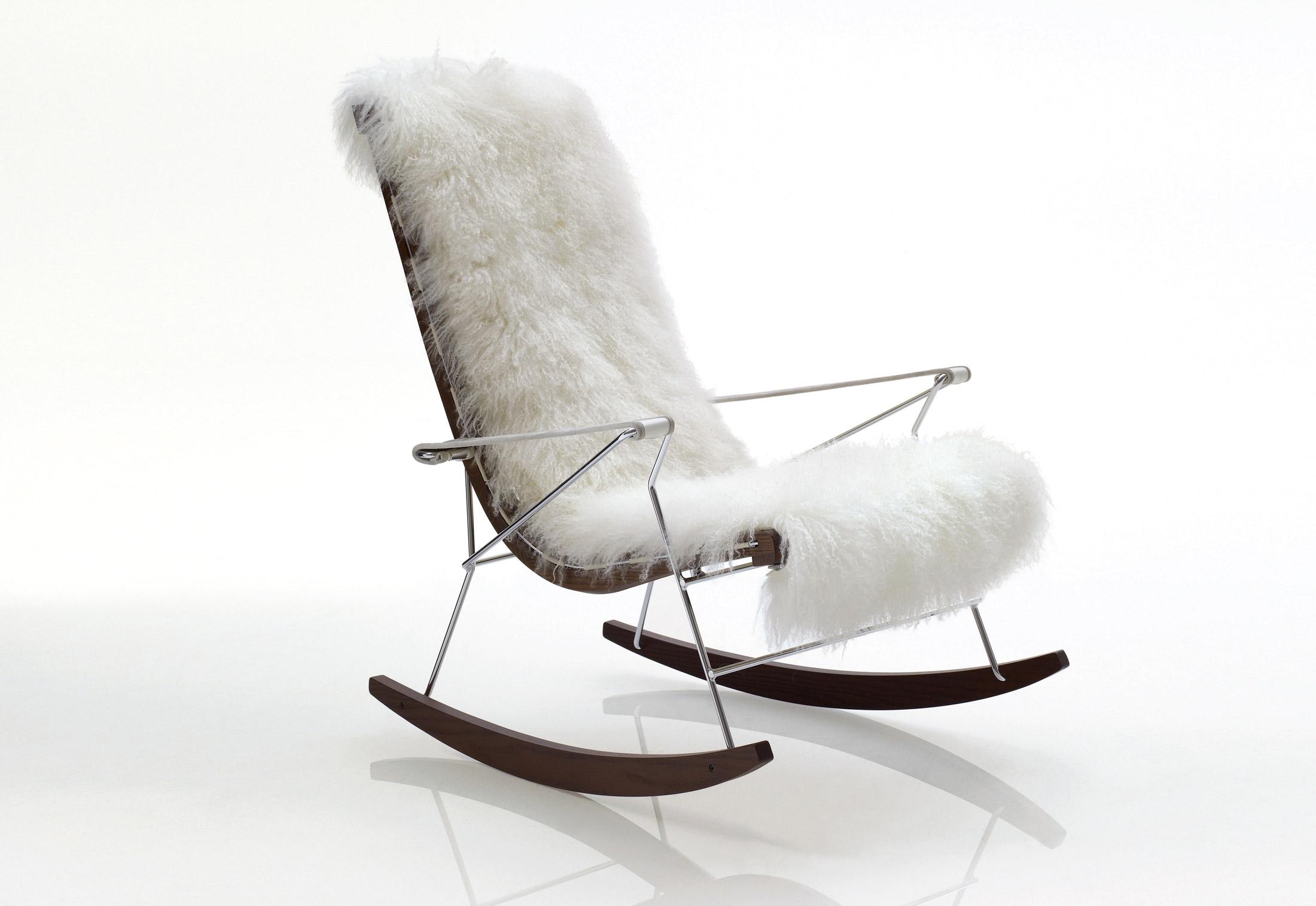 J J Rocking Chair By B Amp B Italia Stylepark