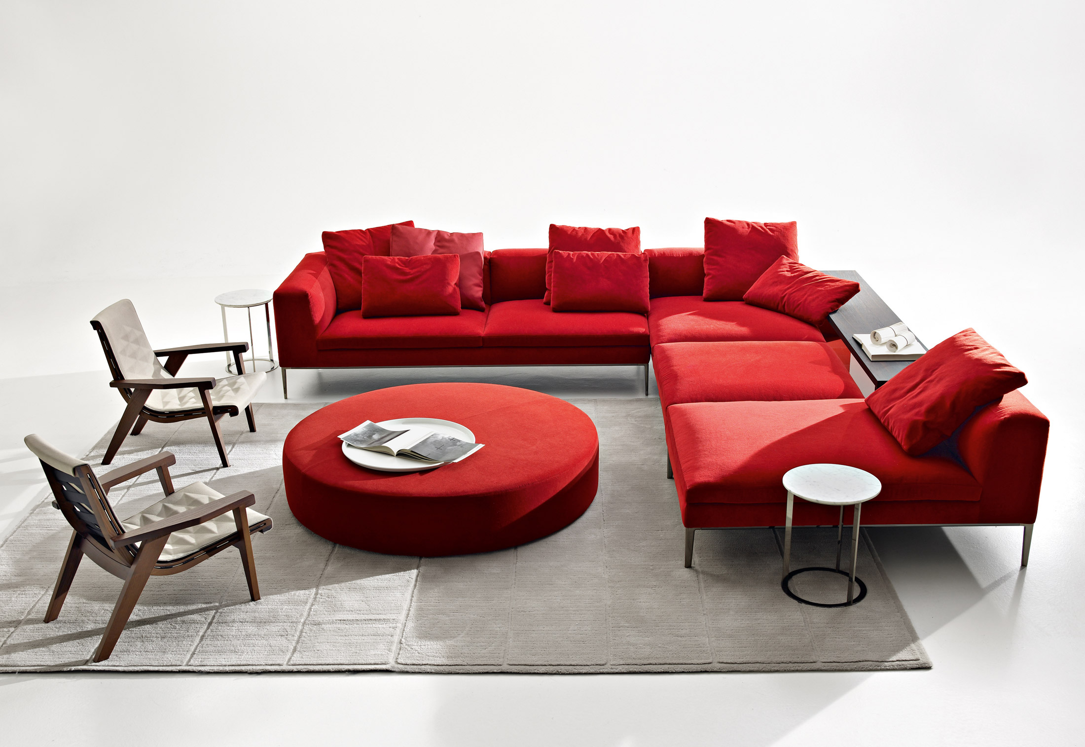 Michel sofa von b b italia stylepark for B b italia logo