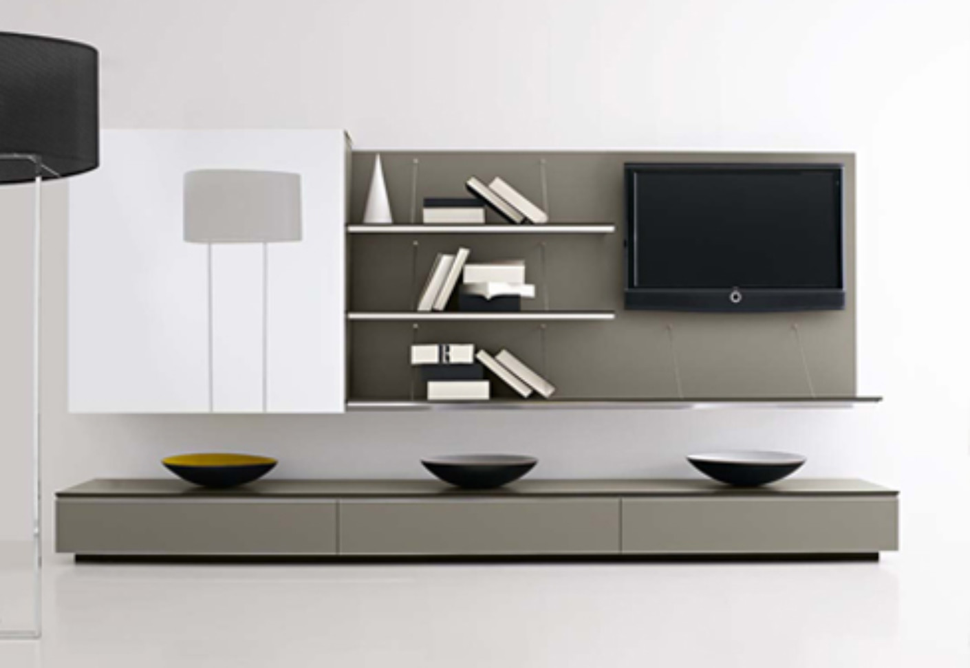Pab tv furniture by b b italia stylepark for Tv meubel design