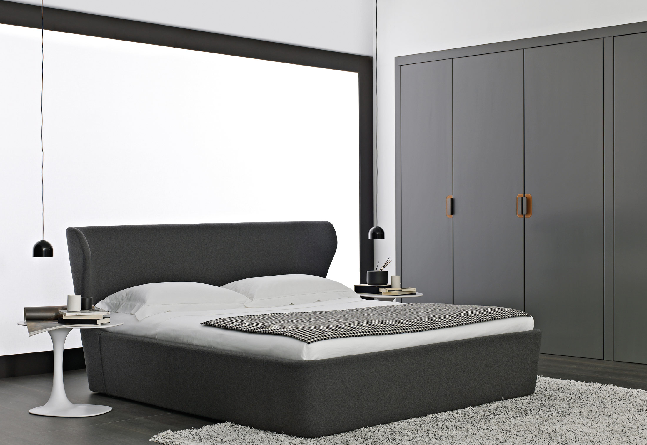 Papilio Bed By B Amp B Italia Stylepark